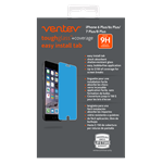 Ventev -  iPhone 8/7/6s/6 Plus - Toughglass +Coverage Tempered Glass Screen Protector