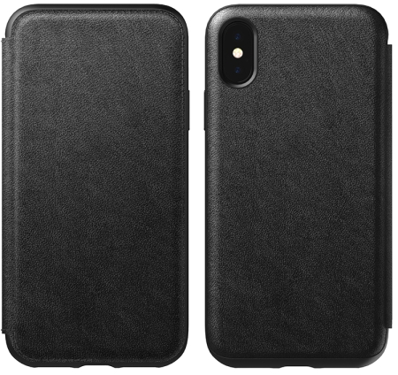 iPhone XS Rugged Leather Case