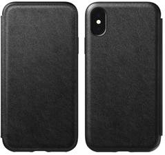 Nomad iPhone XS Rugged Leather Folio Case