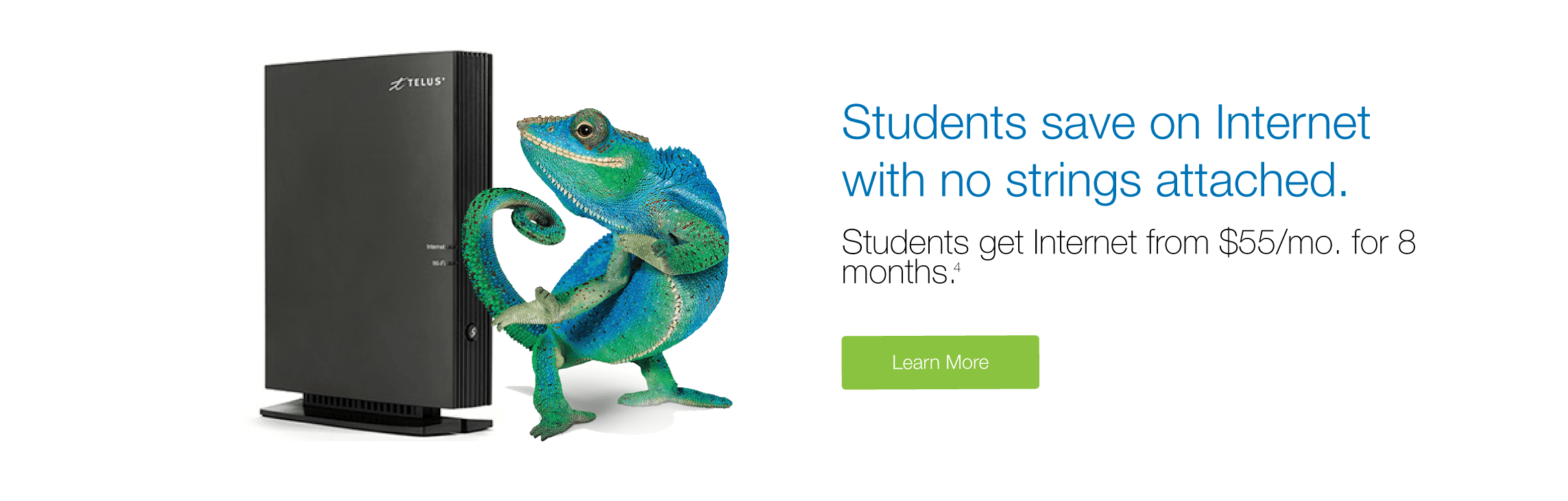 TELUS Internet Student Plans