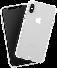 Case-Mate iPhone XS/X Tough Clear Case Plus Glass Screen Protector