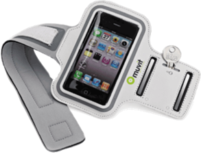 Muvit iPhone 4/4s Sports Armband (Large)