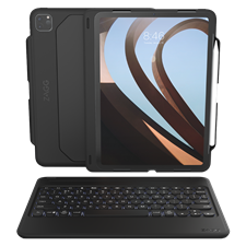 Zagg Rugged Book Go Keyboard And Case For Apple Ipad Pro 11 (2020 / 2018)