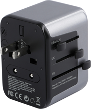 PowerPeak Powerpeak International Power Adapter (All in One)