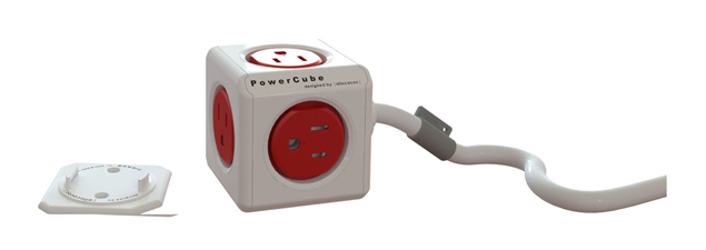 PowerCube Extended 5-Outlet Power Bar with Power Cord