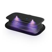 HoMedics Black UV-Clean Phone Sanitizer