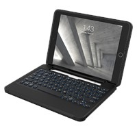Zagg Rugged Book Go Keyboard And Case For Apple Ipad 10.2 / Air 10.5 / Pro 10.5