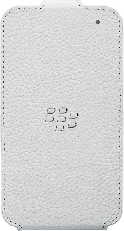sale retailer f1e35 a8358 BlackBerry Q5 Leather Flip Shell Case Price and Features