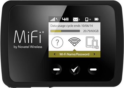 Novatel Wireless MiFi 6620 Global Intelligent Mobile Hotspot