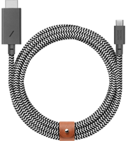 Native Union Belt Cable Type-C to HDMI in Zebra