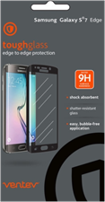 Ventev Samsung S7 Edge toughglass Screen Protectors
