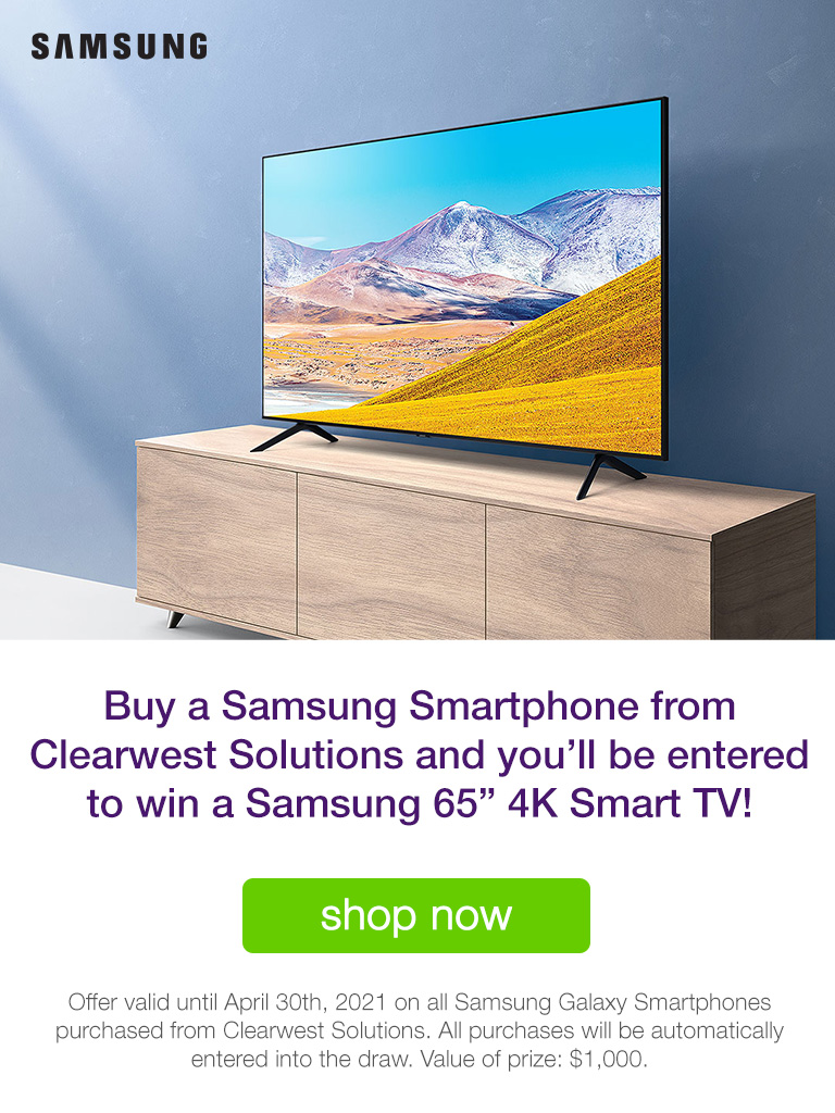 Buy a Samsung Smartphone & Be Entered to WIN!