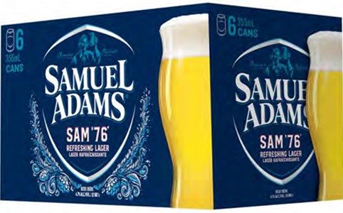 Wett Sales & Distribution Samuel Adams Sam '76 2130ml