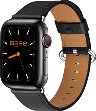 Base Apple Watch Full-Grain Leather Bands  - Large (42/44mm)