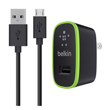 Belkin MIXIT 2.1A microUSB Wall Charger/Cable