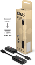Club3D - USB-C 3.1 Gen 1 Male to HDMI 2.0 Female 4K60Hz UHD/3D Active Adapter