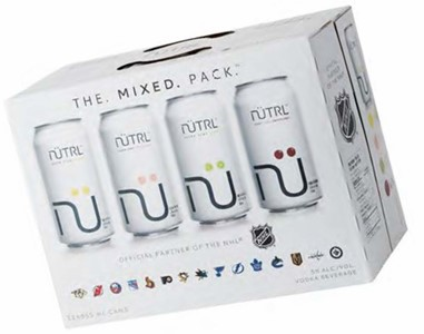 Mike's Beverage Company 12C Nutrl Vodka Soda Mixed Pack 4260ml