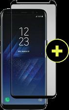 Gadgetguard Galaxy S8 Black Ice Plus Cornice 2.0 Full Adhesive Curved Tempered Glass Screen Guard